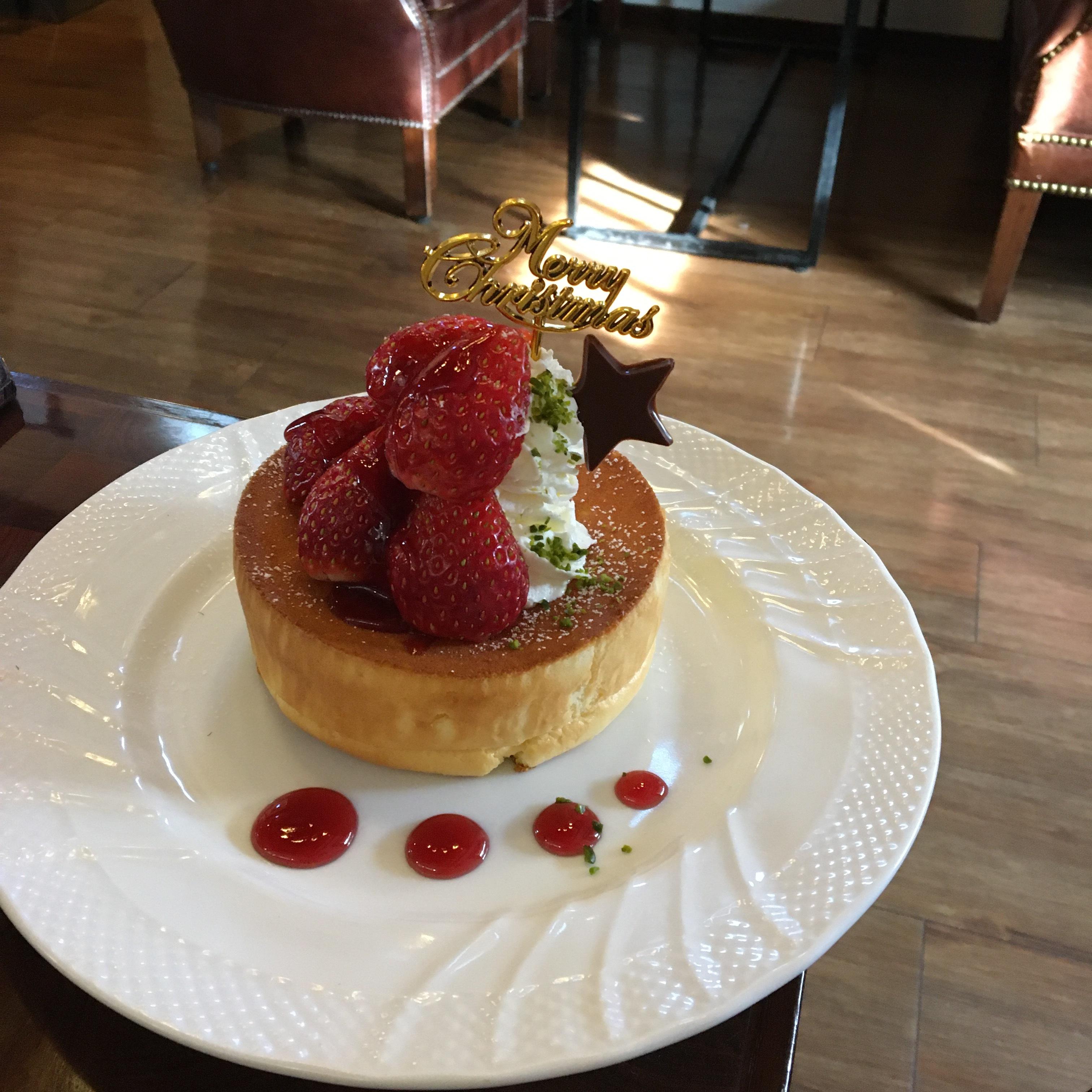 星野珈琲のクリスマスパンケーキを食べてみた♡_1_1