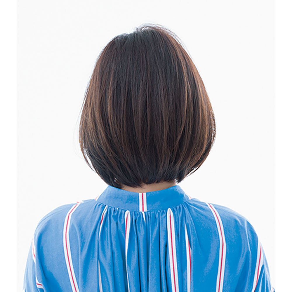 後ろから見た 人気ボブヘアスタイル1位の髪型