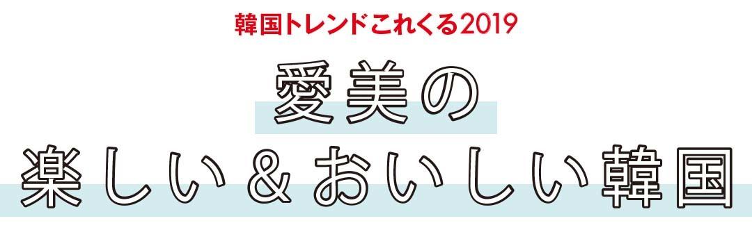 韓国トレンドこれくる2019|愛美の楽しい&おいしい韓国