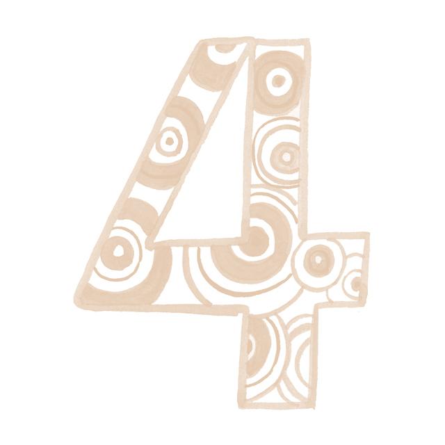 4 ナンバー