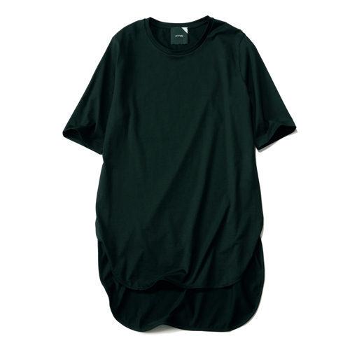 ATON ラウンドヘムTシャツ