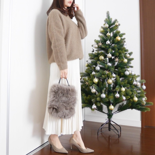 クリスマス何着よう?part2【tomomiyuの毎日コーデ】_1_2