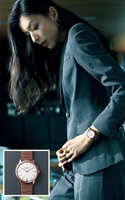 スーツ姿に信頼を与えるヴァシュロン・コンスタンタン「パトリモニー・スモールモデル」