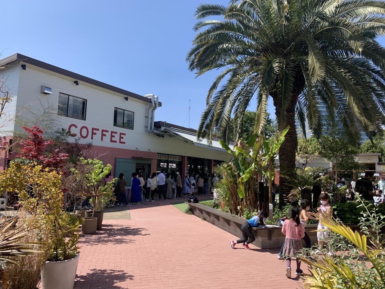 サスペンダースカートで青山のカフェへ_1_1