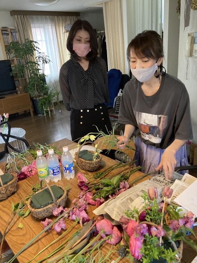 春爛漫のフラワーブーケ♪_1_1-2