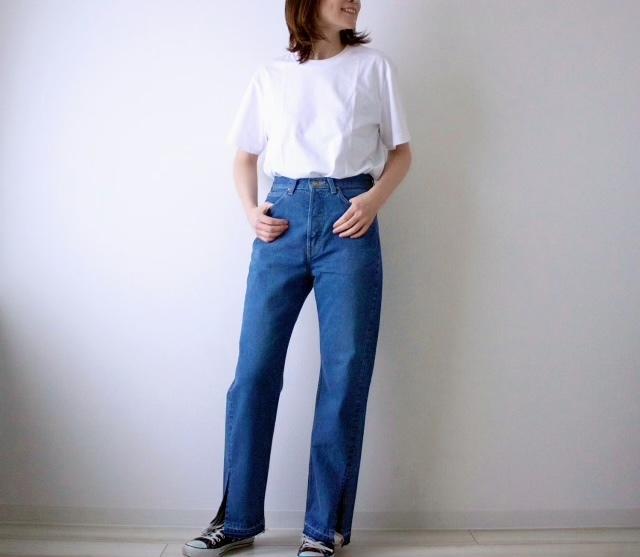 【モデル竹下玲奈さん&Lee】コラボ第一弾♡デニムを履いてみた_1_5