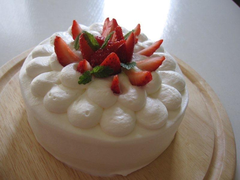 ショートケーキ ミント