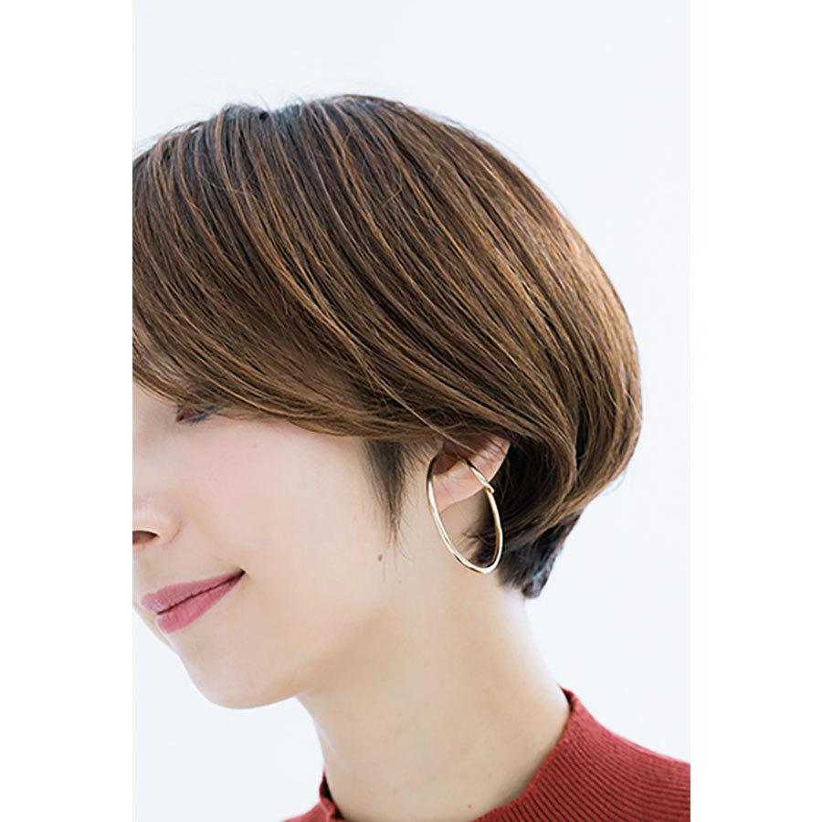 横から見た 人気ショートヘアスタイル1位の髪型