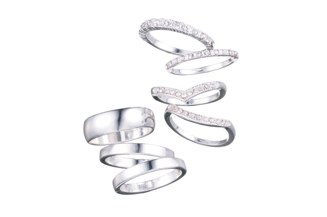 フォーエバー21のリングが買い! 590円でデコラなデザインがセットに♡ _1_2-1