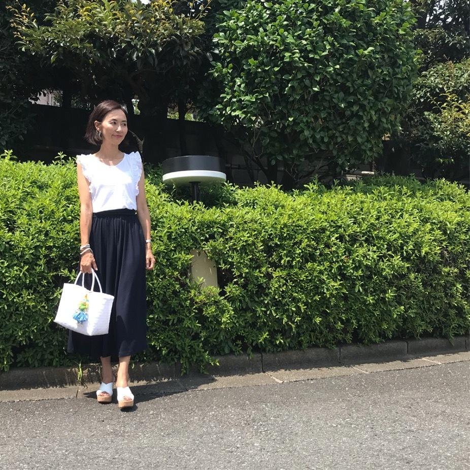 UNIQLOのカットソーロングスカート☆_1_2