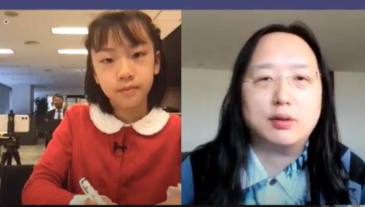 オードリー・タンに小学生作家がインタビュー!「トランスジェンダーと多様性」|Forbes JAPAN_1_4