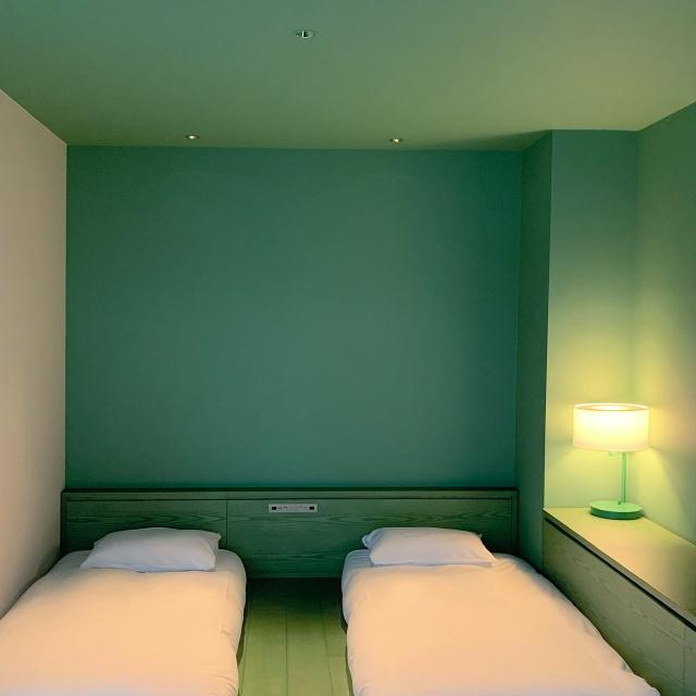 カラーをコンセプトにした水道橋toggle hotel。色に包まれた空間で過ごすひととき。_1_5