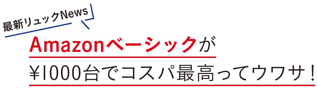 Amazonベーシックが¥1000台でコスパ最高ってウワサ!