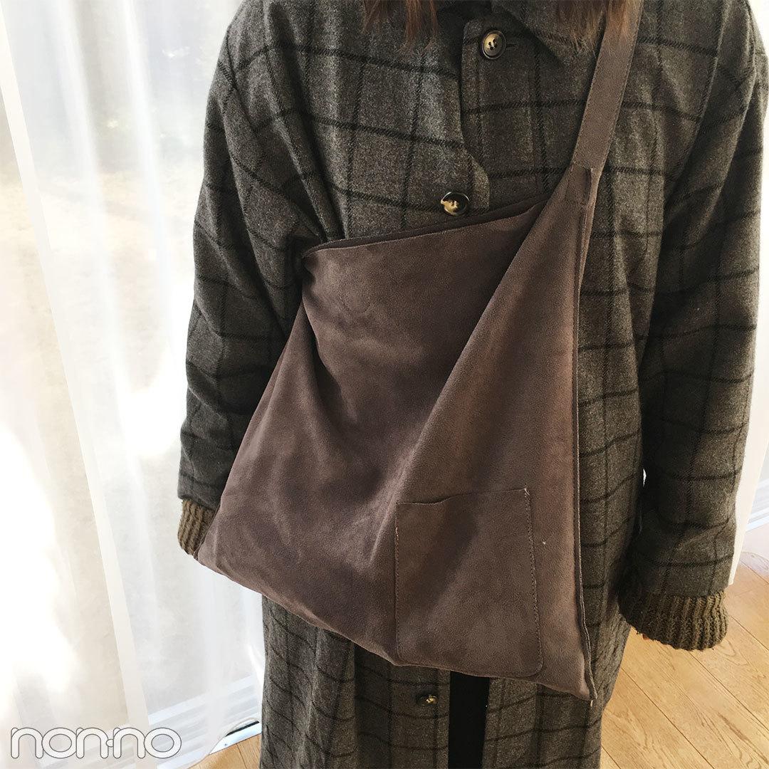 鈴木友菜はKBFのチェック柄コートでゆるずるあったかコーデ♡ 【モデルの私服スナップ】_1_2-2