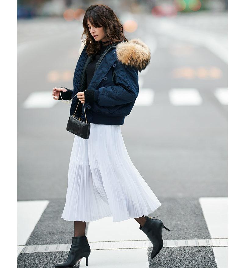 冬の着こなしが女っぽく艶めく「きれいめ白」アイテム4選_1_1-4