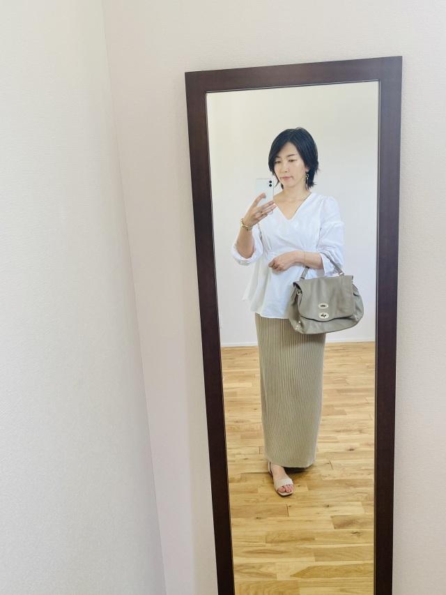アラフォー向け韓国通販ではじめて購入したブラウス_1_3