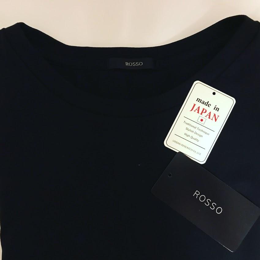 100日チャレンジ後、最初のお買い物は…ROSSOのフレンチTシャツ_1_2-2