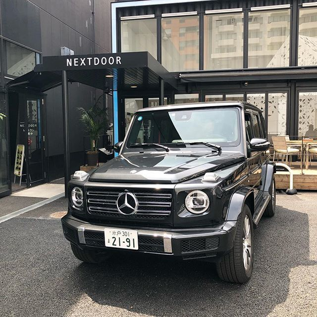 マロニエゲート銀座2にグランドオープンした「 Mercedes me GINZA the limited store」へ行ってきました!_1_1