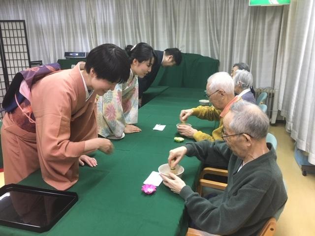大人の嗜み ~茶道編-介護施設での奉仕呈茶~_1_2-1