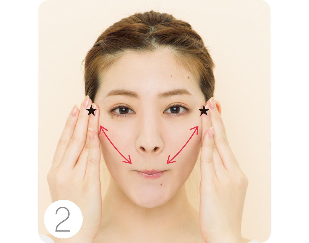 丸顔でほっぺがパンパン…大反響のくちびる締めで顔矯正エクササイズで解消!_1_4-2