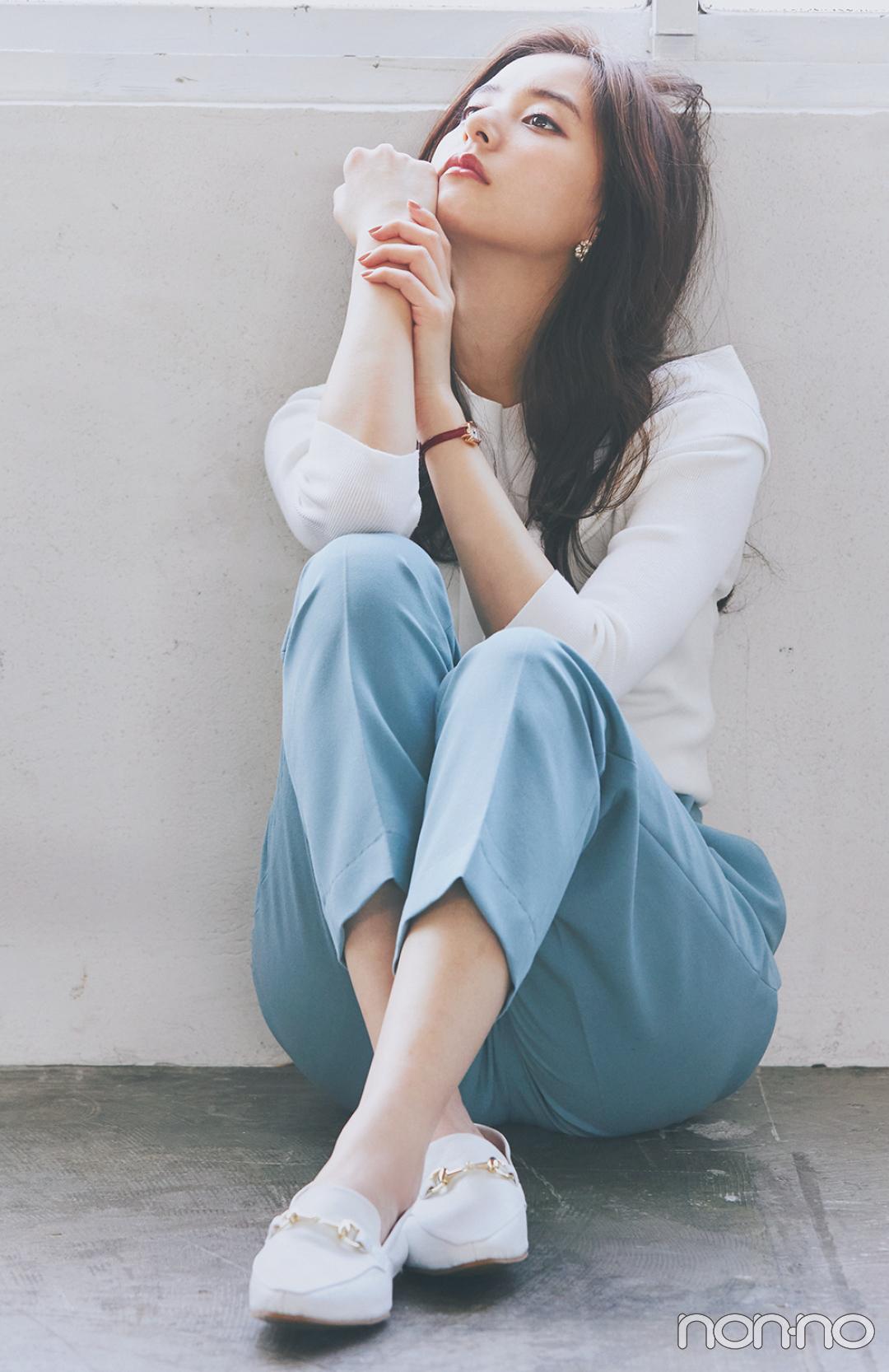 #新木優子のサバフェミニンなオフィスコーデをもっと見る_1_6