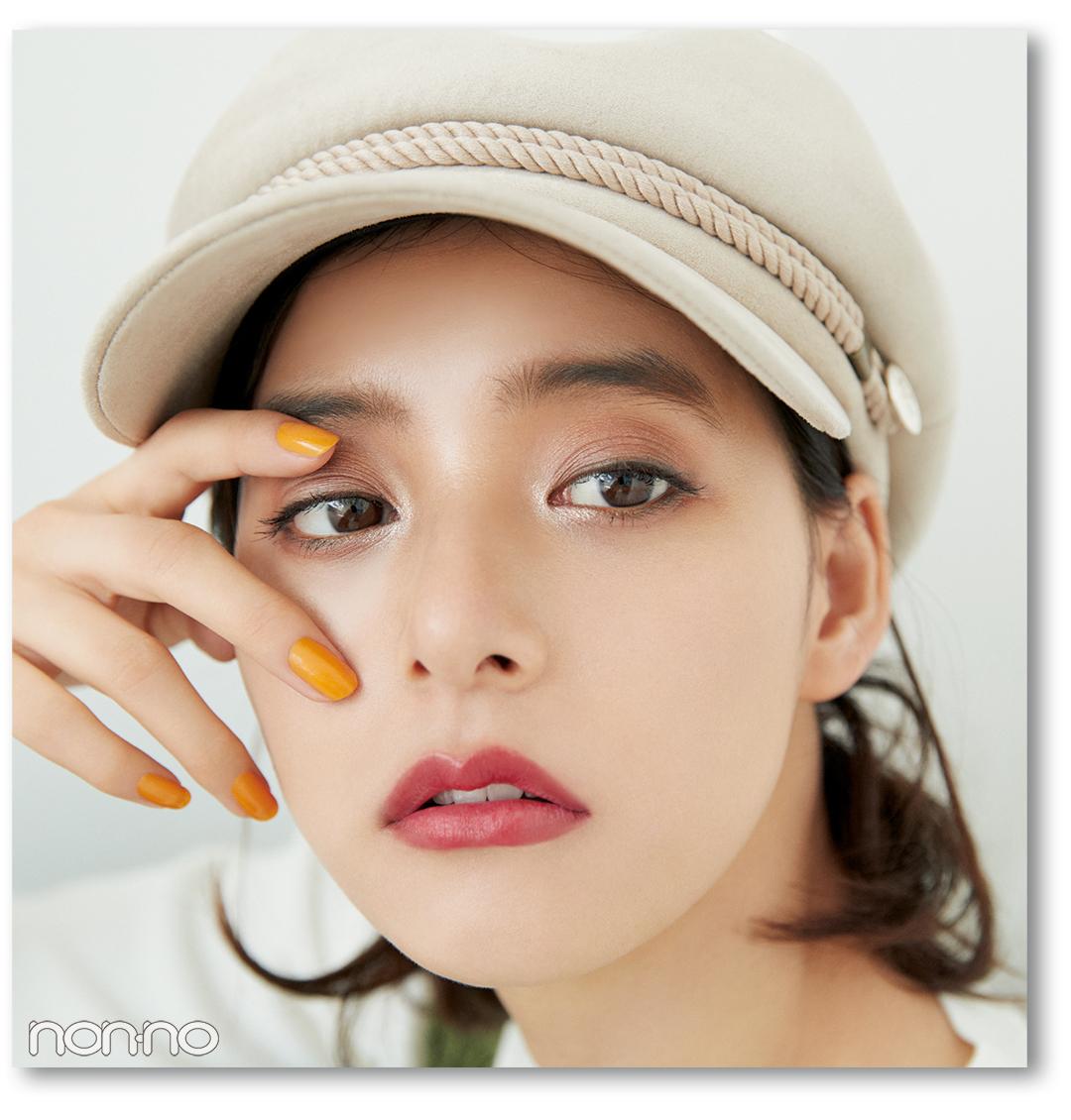 新木優子のモテるアイメイク、全力アピールするのはココ!【モテメイク2018秋冬】_1_2