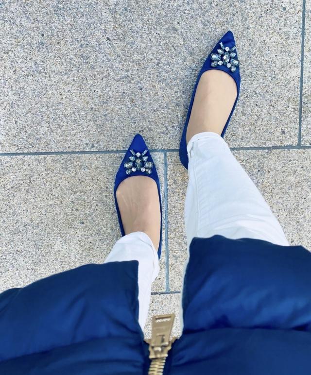春の女っぷりは足元をブルーに♡_1_2