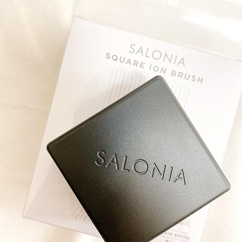 SALONIAのスクエアイオンブラシ