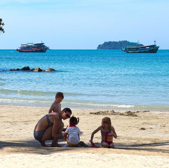 タイビーチのビーチを楽しむ、離島のホテル5選(リペ/クラダン/サメット/パンガン/チャン) _5_2-4