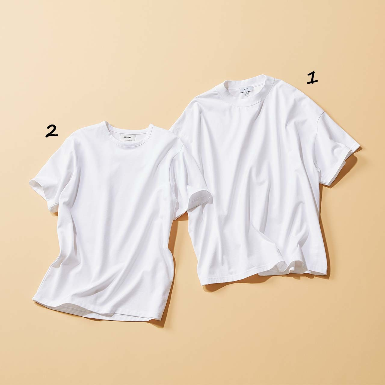 白Tシャツ2枚