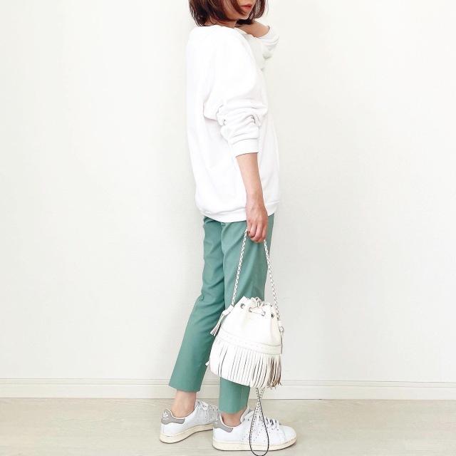 この春、きれい色を楽しむなら「カラーパンツ」がマスト! 40代に似合うカラーパンツ総まとめ|アラフォーファッション_1_32