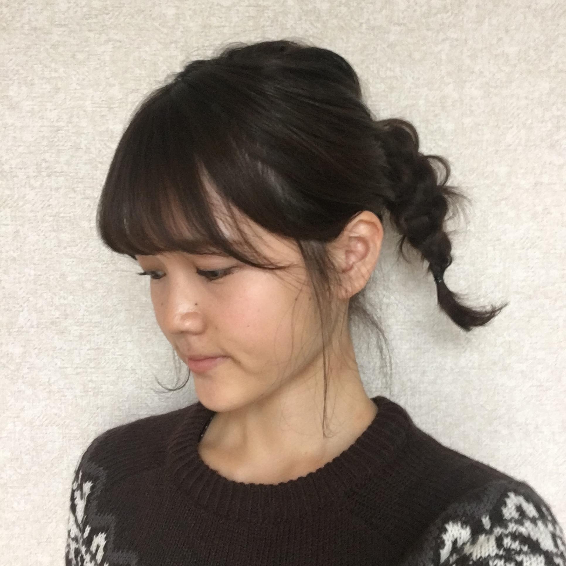 ^o^第45回【簡単でおしゃれ!】噂のラーメンマンヘアをやってみた♪_1_3