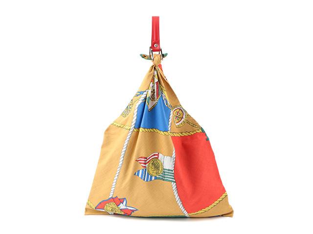 <manipuri (マニプリ)>から、ヴィンテージのスカーフプリントを用いたバッグが登場_1_1