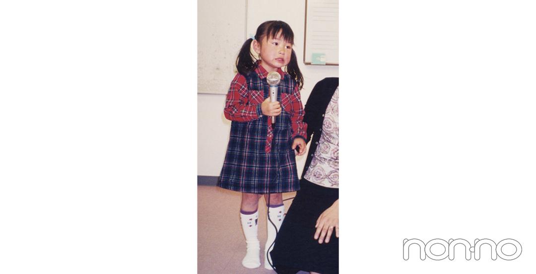 堀田真由4歳