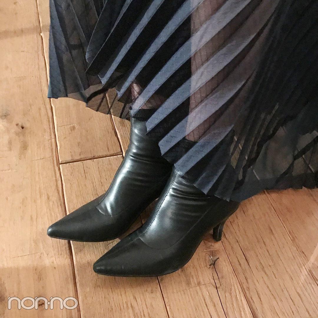 新木優子の私服拝見♡ 華やかな黒でおめかしコーデ!【モデルの私服スナップ】_1_2-3