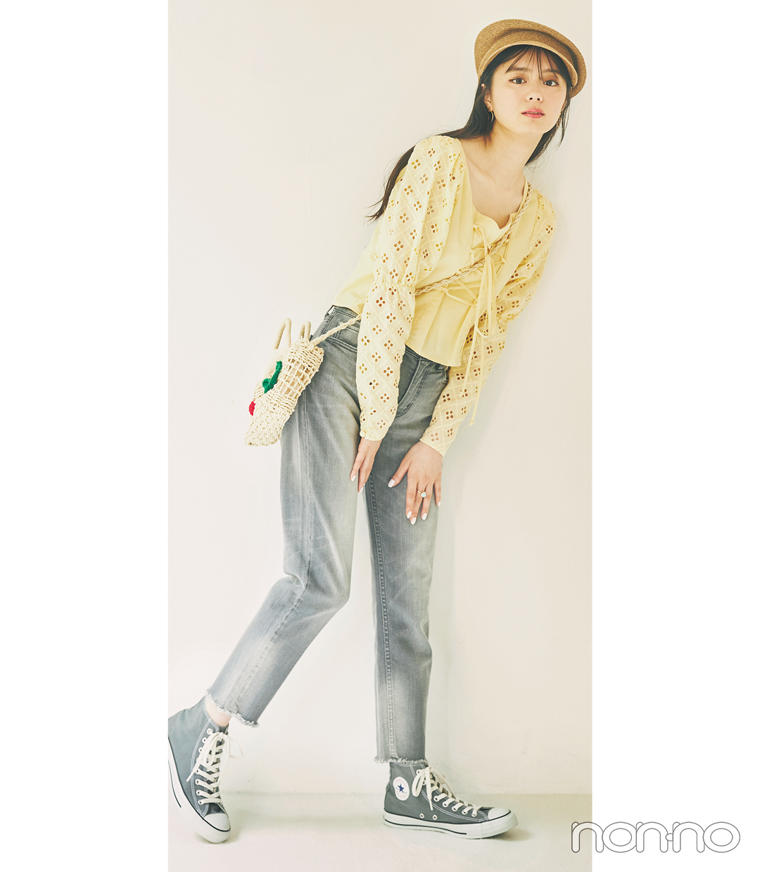 紺野彩夏の好感度ガーリーなパステル派モデルカット11−2