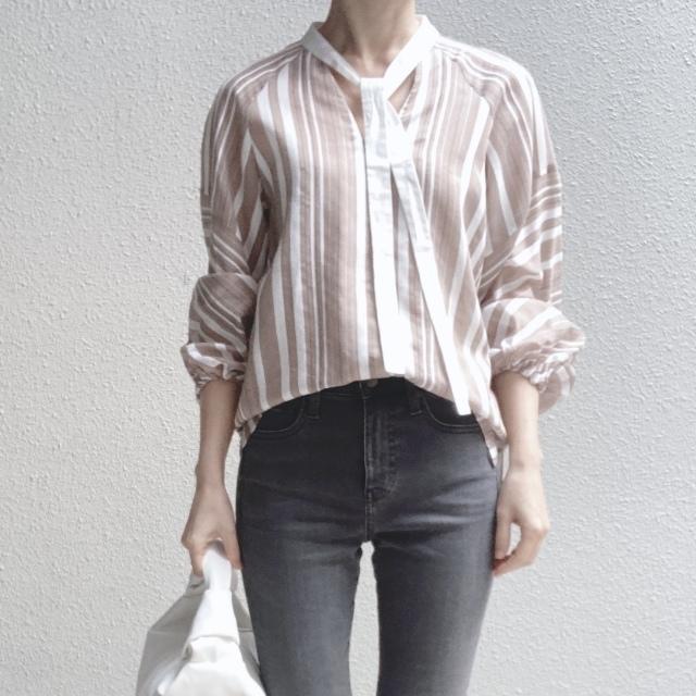 この春のHIT服「シャツ」をアラフォーはこう着る!最旬シャツコーデまとめ|40代ファッション_1_31