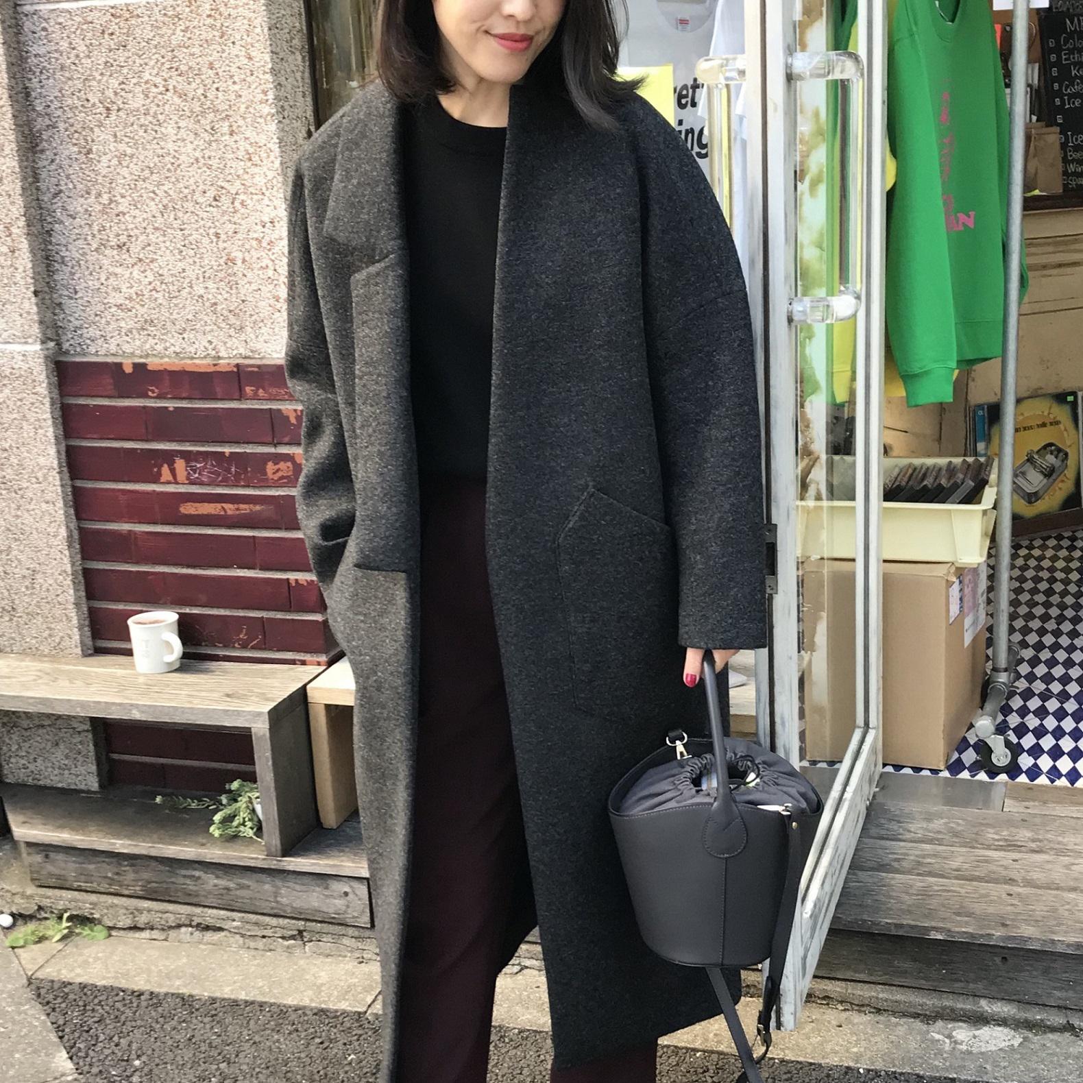 ロング&ビッグが人気!美女組さん今年のコート【マリソル美女組ブログPICK UP】_1_1-1
