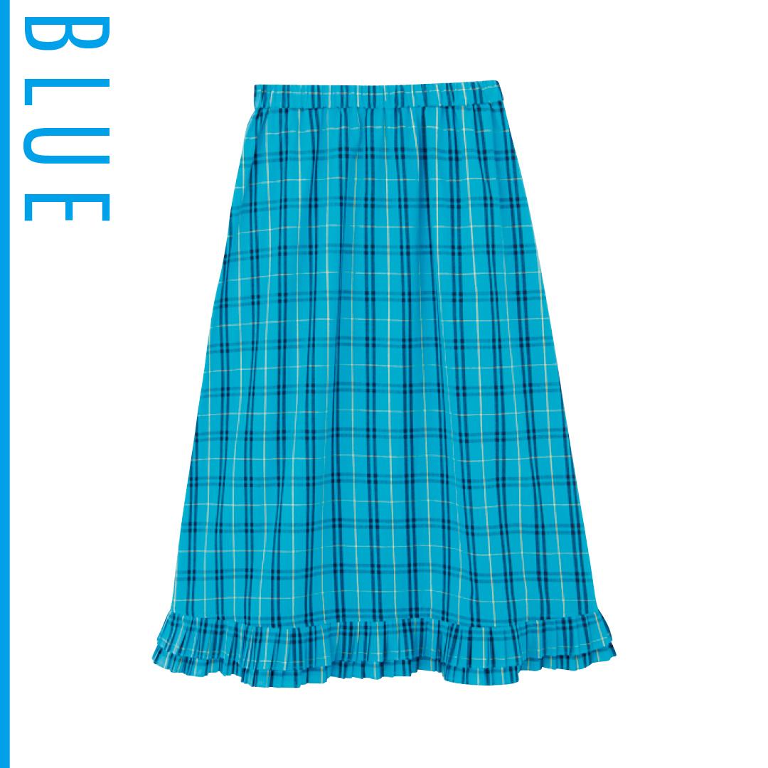 夏のブルーは新木優子がお手本! 肌の透明感が際立つ推し色コーデを披露_1_3-4