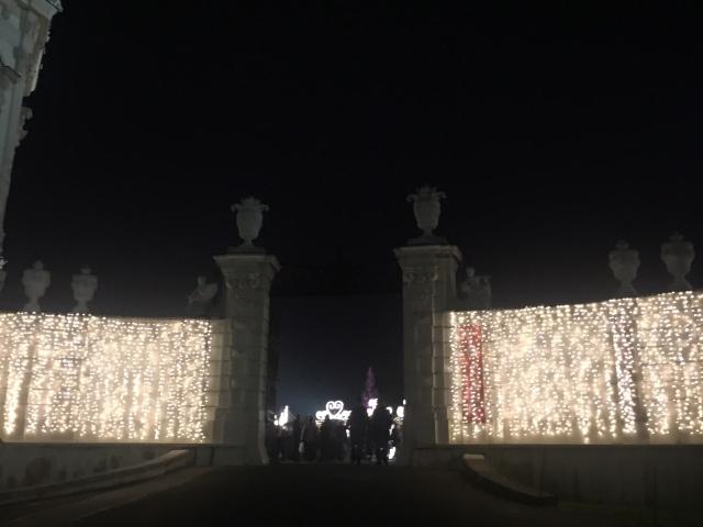 ウィーンのベルヴェデーレ宮殿のクリスマスマーケット_1_5
