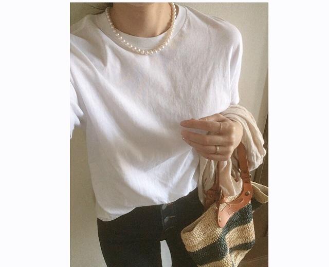 40代が輝く、大人のための上品カジュアルなTシャツコーデカタログ | アラフォーファッション_1_23