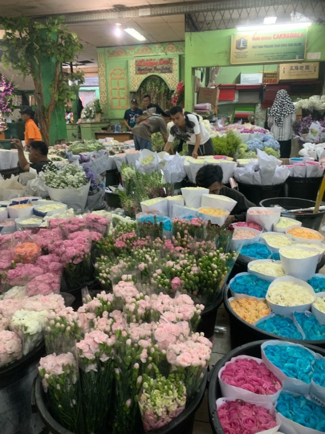 ジャカルタの花市場、Rawa Belong Flower Marketへ♪_1_2