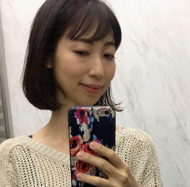 【40代 髪型】秋のナチュラルボブヘアー_1_2-1