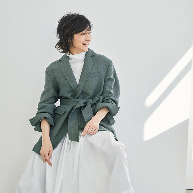 POSTELEGANTのジャケット 富岡佳子