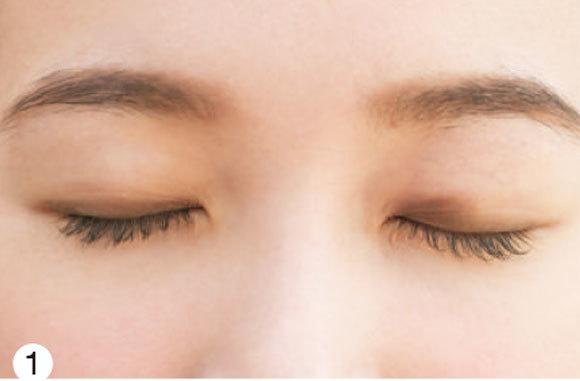 目が左右非対称さんの場合★タイプ別「デカ目」になる方法③ _1_3-1