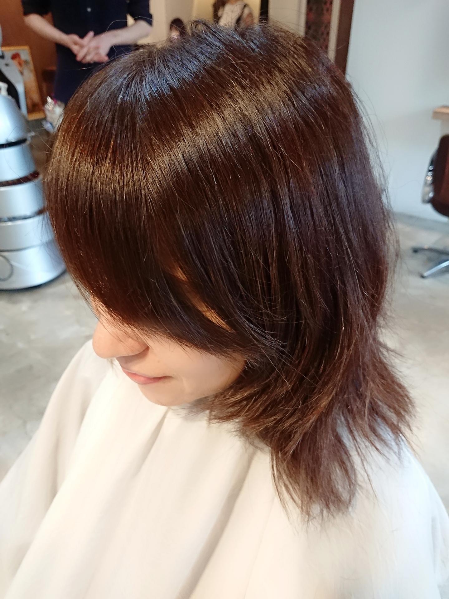 TOKIOトリートメントのおかげで髪は艶々元気になりました♪