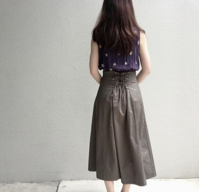 1,990円で見つけた新作スカートを2wayで着回し_1_2