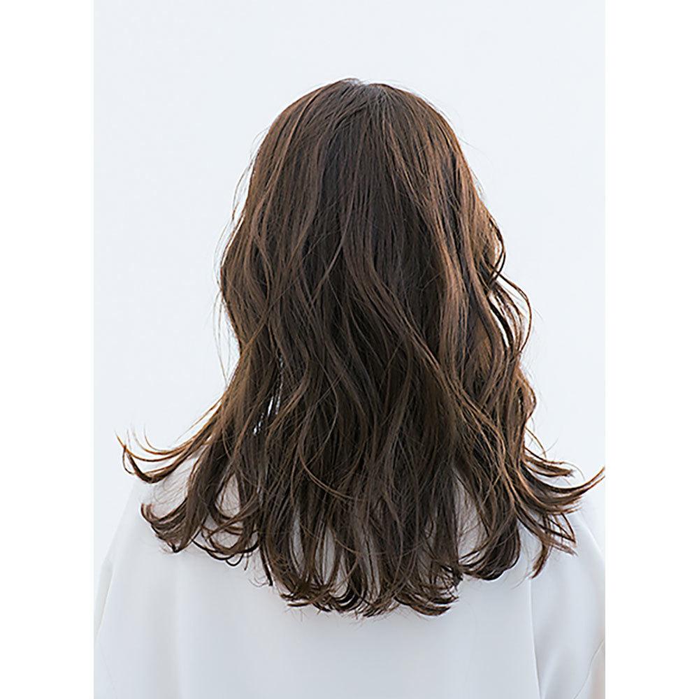 後ろから見た 人気ヘアスタイル5位の髪型