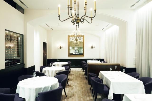 フランスの星つきレストランを彷彿とさせる