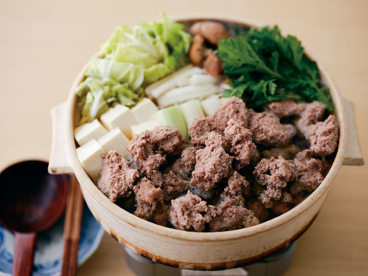 ■「四季の味 ふじ芳」のうずら鍋セット